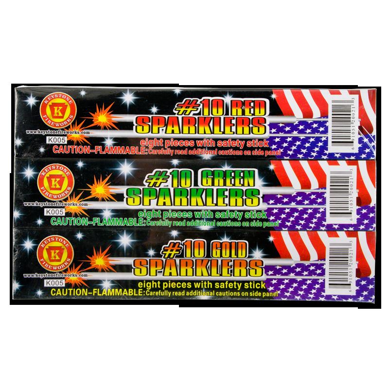 Keystone Fireworks Sparkler