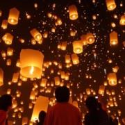 sky lanterns