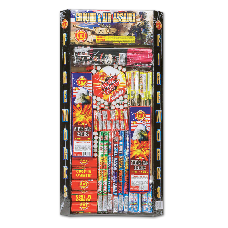 Keystone Fireworks Ground and Air Assault Assortment
