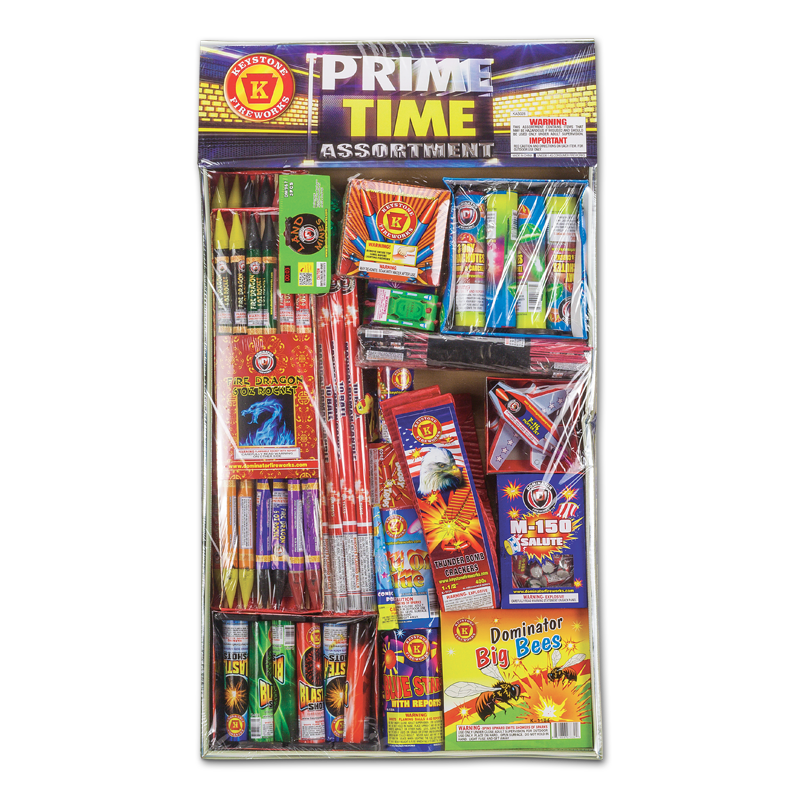 Keystone Fireworks Prime Time Assortment