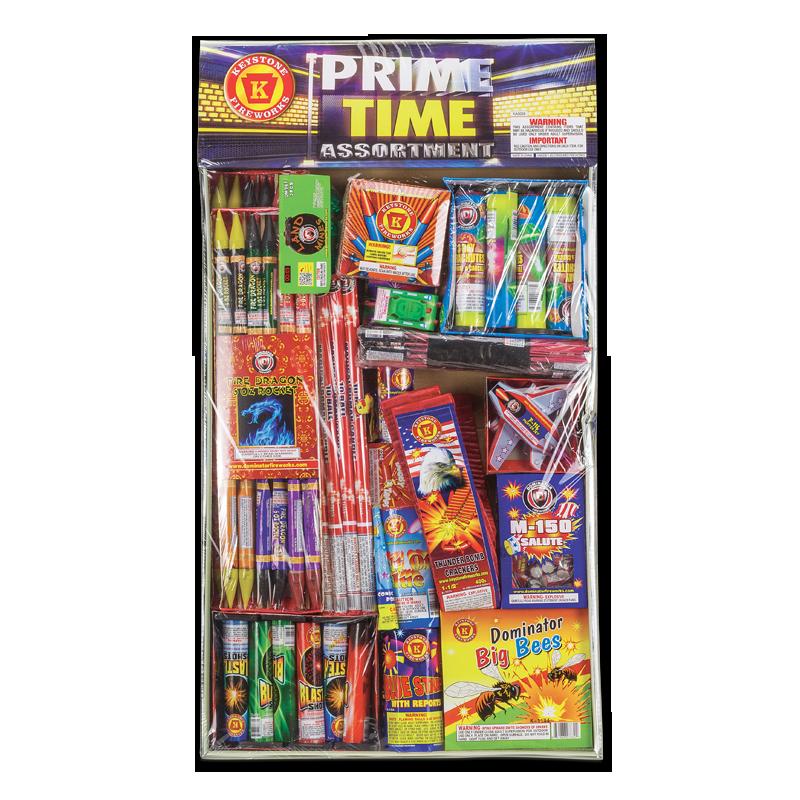 Keystone Fireworks Prime Time Assortment