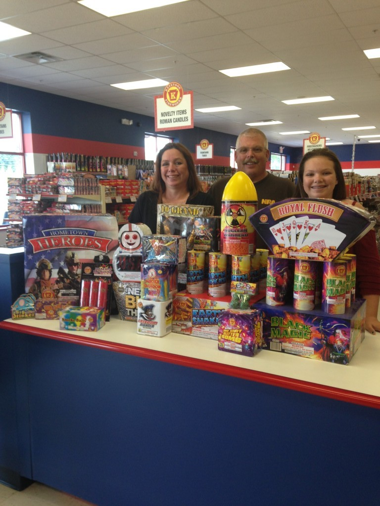 $500 Free Fireworks Winner Greencastle