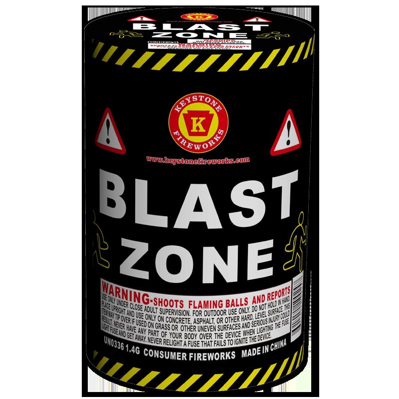 Blast Zone Fountain - Keystone Fireworks