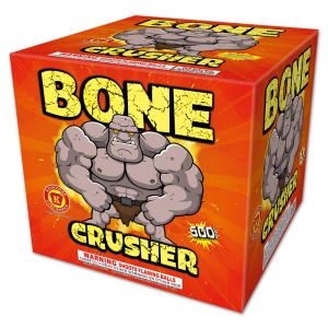 Bone Crusher 500 Gram Cake - Keystone Fireworks