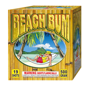 Beach Bum 500 Gram Cake