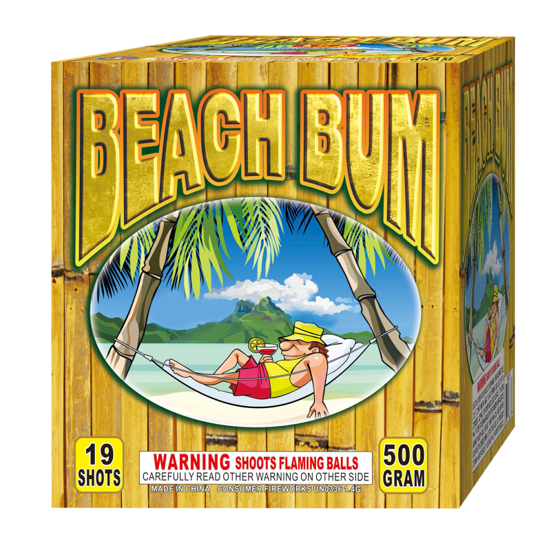 Beach Bum 500 Gram Cake
