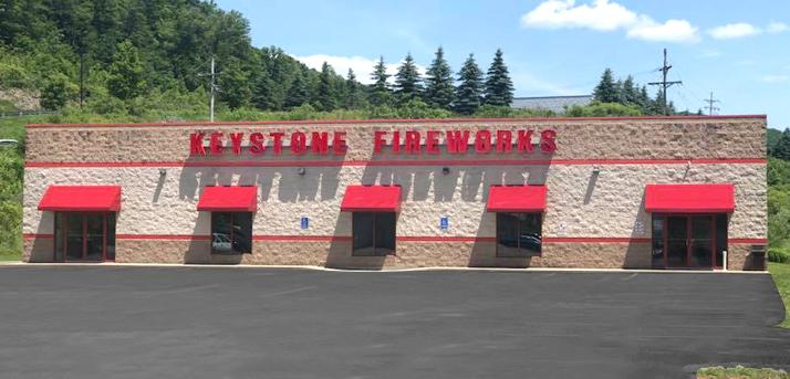 Keystone Fireworks Bradford Pennsylvania
