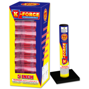 K-Force, 60 Gram Shell, Keystone Fireworks, Pennsylvania, Mortar