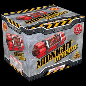Midnight Dynamite, Keystone Fireworks, Pennsylvania, 500 Gram Cake