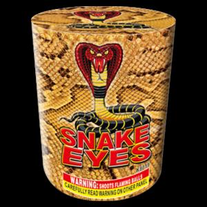 Snake Eyes, Keystone Fireworks, Pennsylvania, 200 Gram Cake