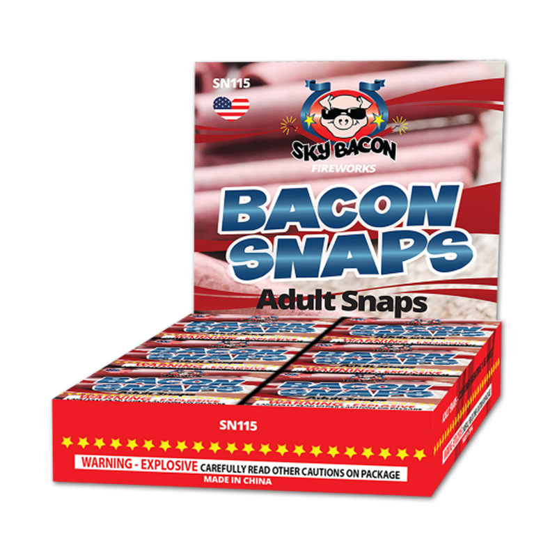 Adult Snaps, Snappers, Bacon Snaps