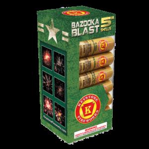 Bazooka Blast 5 Inch Shells Keystone Fireworks