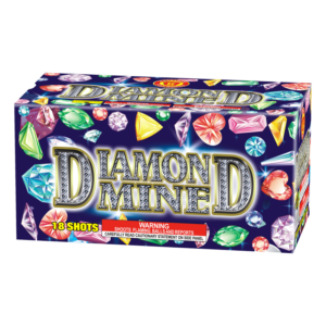 Diamond Mine Keystone Fireworks 200 Gram Cake