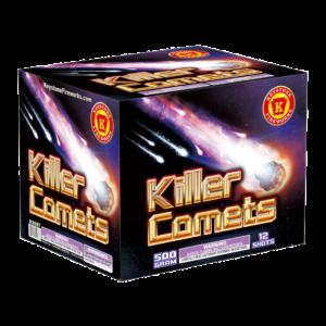 Killer Comets 500 Gram Cake Keystone Fireworks
