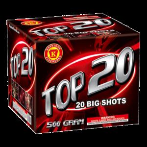 Top 20 500 Gram Cake Keystone Fireworks