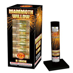 Mammoth Willow 5 Inch Shells Keystone Fireworks