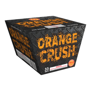 Orange Crush 500 Gram Cake Keystone Fireworks