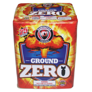 Ground Zero 200 Gram Cake Keystone Fireworks