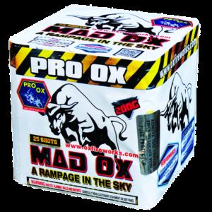 Mad OX 200 Gram Cake Keystone Fireworks