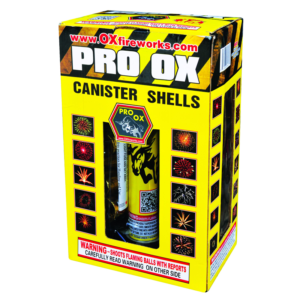 Pro Ox Canister Shells Keystone Fireworks