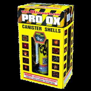 Pro Ox Canister Shells Keystone Fireworks
