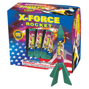 X-Force Rocket Keystone Fireworks