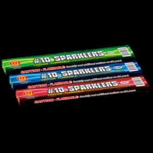 #10 Color Sparklers Keystone Fireworks