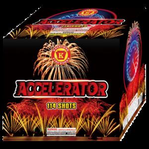 Accelerator 500 Gram Cake Keystone Fireworks