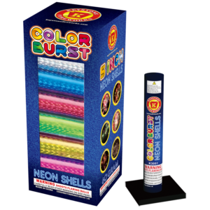 Color Burst Neon Shells Keystone Fireworks