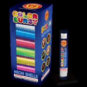 Color Burst Neon Shells Keystone Fireworks