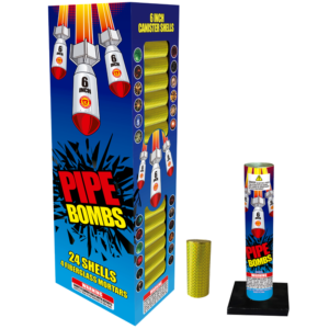 Pipe Bombs 6 Inch Mortar Shells Keystone Fireworks Pennsylvania