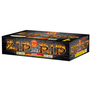 Zip and Rip 500 Gram Cake Keystone Fireworks