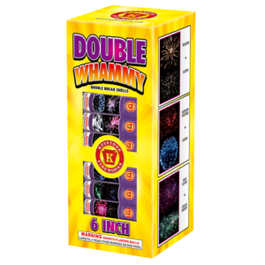 Double Whammy 6 inch Double Break Shells Keystone Fireworks