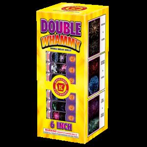 Double Whammy 6 inch Double Break Shells Keystone Fireworks